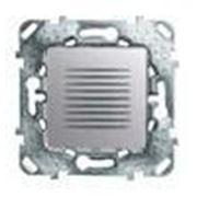Звонок 70db/1m алюминий (Unica Top) Schneider Electric (Р) фото
