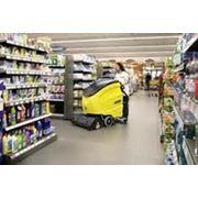 Уборка супермаркетов фото