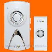 Звонок дверной, 220V, 35 мелодий, белый, E-351 Feron фото