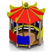 Игровые домики для детских площадок фото