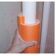 Скорлупы для труб. Утепление теплопроводов. фото