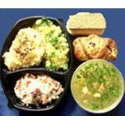 Доставка комплексных обедов фото