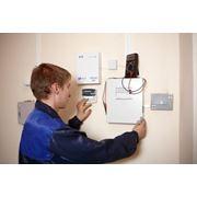 Монтаж систем охранной сигнализации и безопасности фото
