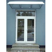 Двери входные металлопластиковые фото