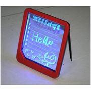 Панель для рекламы с у/фиолетовой LED-подсветкой и маркером фото