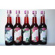 Натуральные соки из свежих ягод