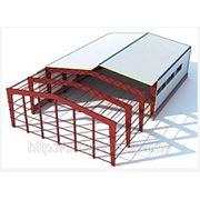 Монтаж легкосборных зданий и сооружений (сэндвич-панель) фото