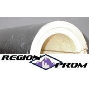 Скорлупа ППУ 273*60ф (фольгированная) изоляция труб фото