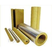 Цилиндры и полуцилиндры теплоизоляционые с покрытием алюминиевой фольгой 100-1000.48.30 фото