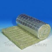 Маты минераловатные прошивные PAROC Wired Mat 80 AL1 (с фольгой)
