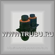 Неподвижная опора ППУ предизолированная в ОЦ/ПЭ оболочке 219/315 (355) фото