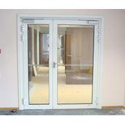 Двери металлопластиковые из немецкого профиля фото