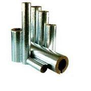 ROCKWOOL Цилиндры теплоизоляционные кашированные алюминиевой фольгой 76х40 фото