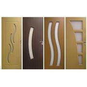 Внутренние PVC двери фото