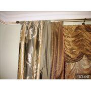 Ткани для штор и портьер фото
