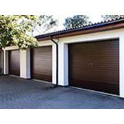 Ворота гаражные фото