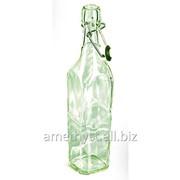 Стеклянная квадратная бугельная бутылка Алжир 0.5 л фото