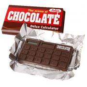 """Калькулятор """"Шоколатор"""" в виде плитки шоколада, малый фото"""