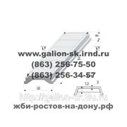 Плита покрытия ребристая 4 ПГ 6-3 АтV фото