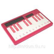 Калькулятор пианино светло-красный (815473) фото