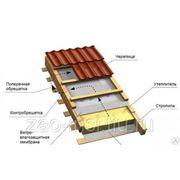 """Скатная крыша """"URSA"""" 150мм (0,72) Минплита (Плита базальтовая) фото"""