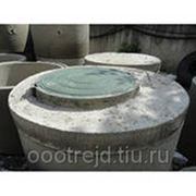 Плита перекрытия с пластиковым люком для колец(ППЛ 10-1) фото