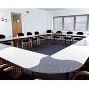 Конференц-стол из искусственного камня фото
