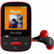 Фоторамка цифровая SanDisk SDMX24-004G-G46R, МР3 Sansa Clip Sports 4GB Red (красный) фото