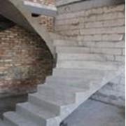 ЖБИ лестничные ступени фото
