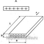 Облегченные плиты перекрытия ПНО 25-10-8 АтV