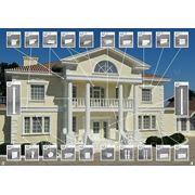 """Фасадный декор. Утепление домов по технологии """"мокрый фасад"""" CERESIT. фото"""