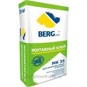 МК 35 Монтажный клей для монтажа панелей из пенополистирола и минеральной ваты BERGhome фото