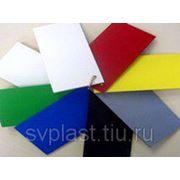 Листовой ПВХ вспененный белый (толщина 5 мм) фото