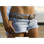 Шорты джинсовые фото