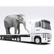 Транспортировка нестандартных грузов фото