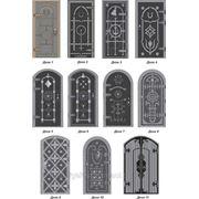 Двери кованые и с коваными укпашениями,накладками.Двери решётчатые кованые. фото