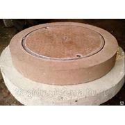 Люк полимержелезобетонный для смотровых колодцев ТУ 5855-001-24225363-2002 фото