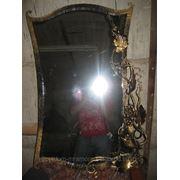 Зеркало с элементами ковки,3 фото
