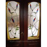 Витраж в дверь купить недорого цена симферополь тифани фото