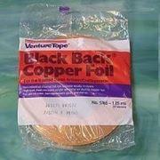 Фольга медная чёрная CopperFoil 4,00 мм фото