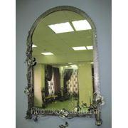 Обрамление для зеркала «Вьюн» кованое фото