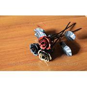 Кованая роза мини фото