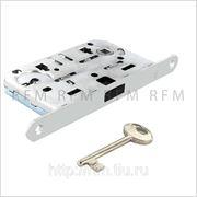 Замок ПОЛЯРИС AGB (магнитный) c 1 ключом для межкомнатной двери, АРТ. В04101.50.34 фото