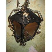 Светильник кованый, 8 фото