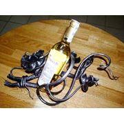Кованая подставка для бутылки вина… фото