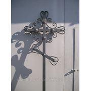 Кресты металлические и кованые фото