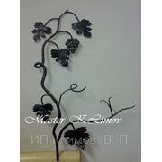 Виноградная ветвь кованая фото