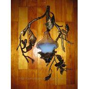 Светильник кованый, декоративный, 7 фото