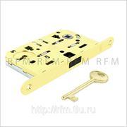 Замок ПОЛЯРИС AGB (магнитный) c 1 ключом для межкомнатной двери, АРТ. B04101.50.03 фото