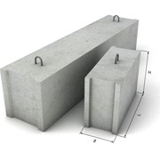 Фундаментные блоки ФБС 12.6.6т фото